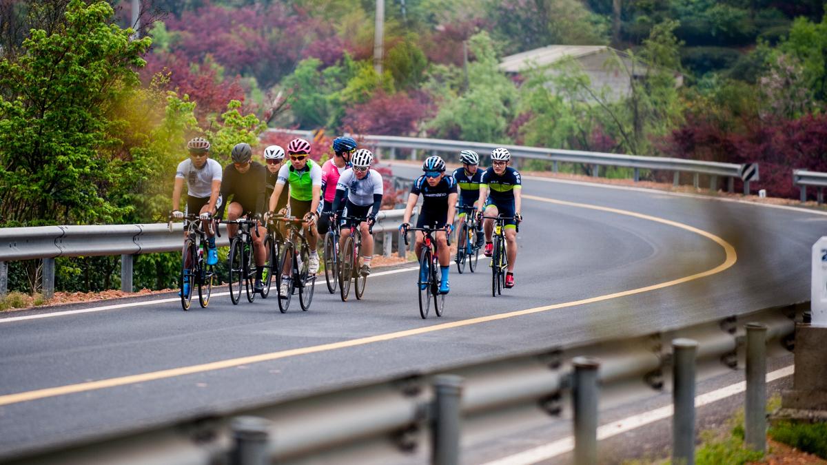 四明山下来相聚,2018 SHIMANO媒体骑行活动