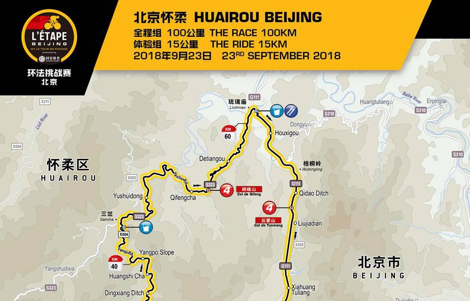 环法挑战赛·北京站赛道公布 开启早鸟报名通道