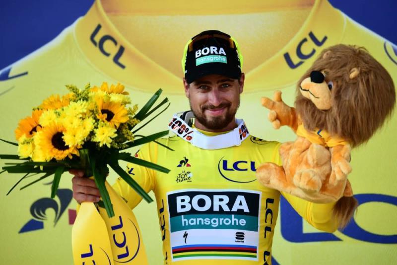 2018环法第二站:安全撑到最后Sagan快意夺冠穿黄衫