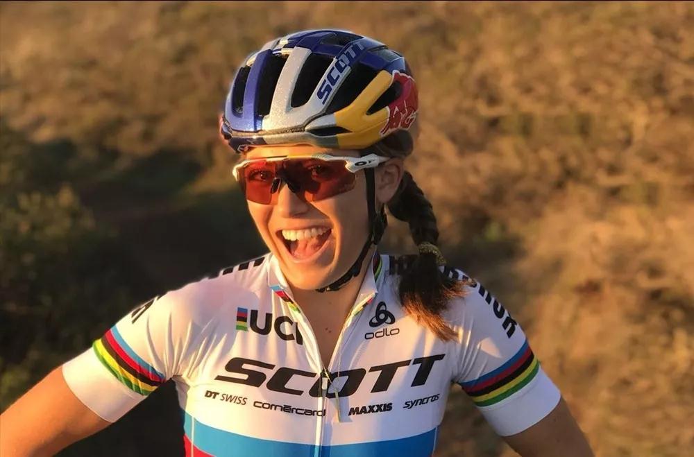 山地世锦赛冠军凯特加盟SCOTT-SRAM车队