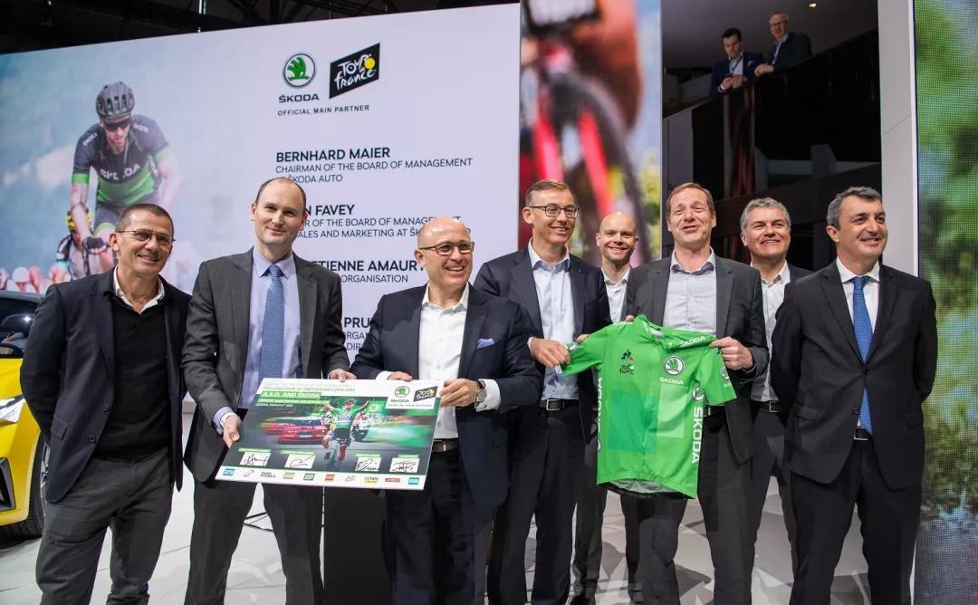 斯柯达继续赞助环法自行车赛,合作延长至2023年