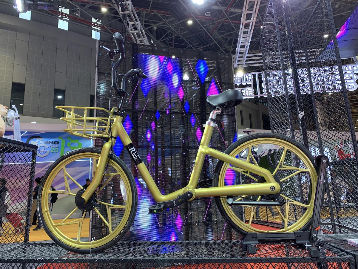 """洪记两轮产品""""飞龙""""获中国自行车行业顶级评选 CHINA CYCLE 金奖"""