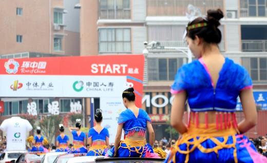 黑马里维拉--打响环中国Ⅱ洪江头站