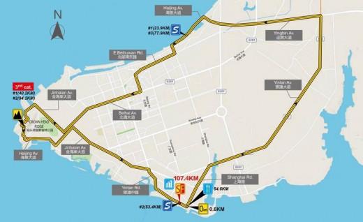 深度剖析格力-环广西公路自行车世界巡回赛线路