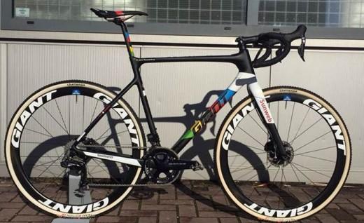 U23公路越野世界冠军Joris Nieuwenhuis座驾GIANT TCX