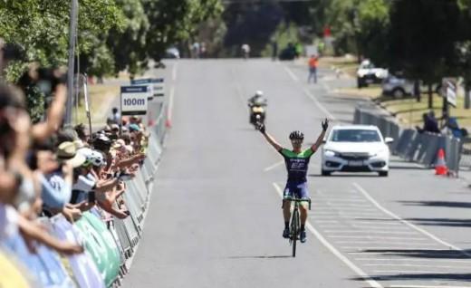 Cyrus Monk夺得澳大利亚国家公路车赛冠军!