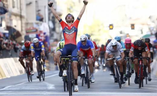 美利达自行车助力 尼巴利米兰圣雷莫单飞称霸