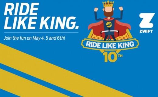 RIDE LIKE KING十年庆Giant 5/4-6与全球车友在线团骑