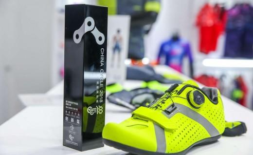 无锁不惧,森地客非锁助力骑行鞋阿波罗获上海展创新奖