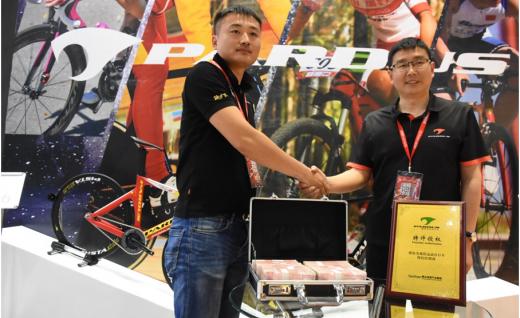直击上海展|腾达体育成功代理Pardus瑞豹运动自行车