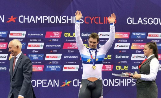 BEAT车手获得欧洲锦标赛1000米计时赛金牌
