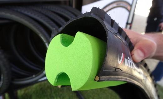 山地车内胎创新设计 无内胎系统填充物 Air-Liner