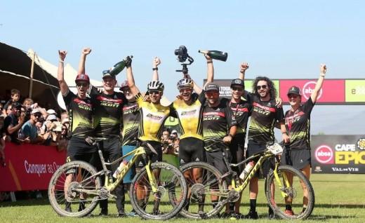 时隔726天 SCOTT-SRAM车队再获CAPE EIPC总冠军