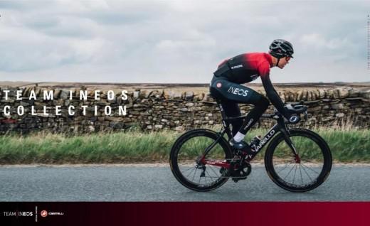 Castelli 正式发布 INEOS车队骑行服