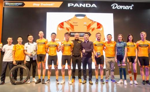 猛将如云 耐米德-熊猫车队亮相上海展