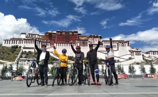 骑车部落·轻骑318川藏线15天休闲体验骑行活动