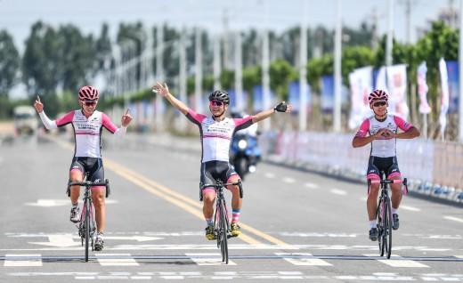 全胜的强队——2019中国·路通黄河口(东营)自行车巡回赛首站