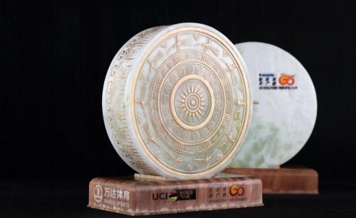 2019格力-环广西公路自行车世界巡回赛奖杯亮相