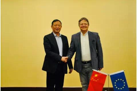 中欧产业交流活动在京津举行