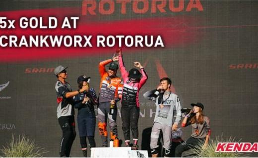 建大赞助车手在Crankworx Rotorua中夺得5面金牌!
