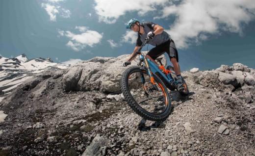 解析新型e-bike山地车赛
