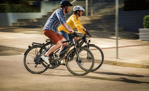 E-Bike有助维持运动与健康