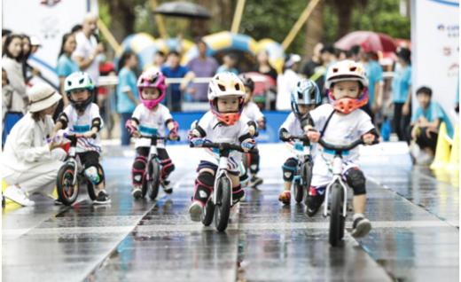 万达体育将携手中国自行车运动协会 打造最高级别儿童滑步车赛事