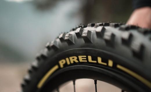倍耐力联合世界冠军法比安•巴雷尔为重力自行车比赛研发新款Scorpion轮胎